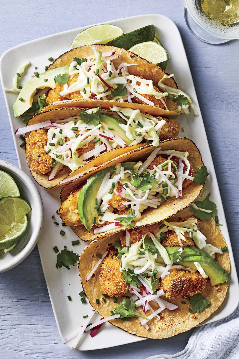 Easy Catfish Tacos with Slaw