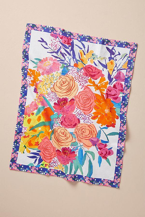 Bridgette Thornton Paint + Petals Dish Towel