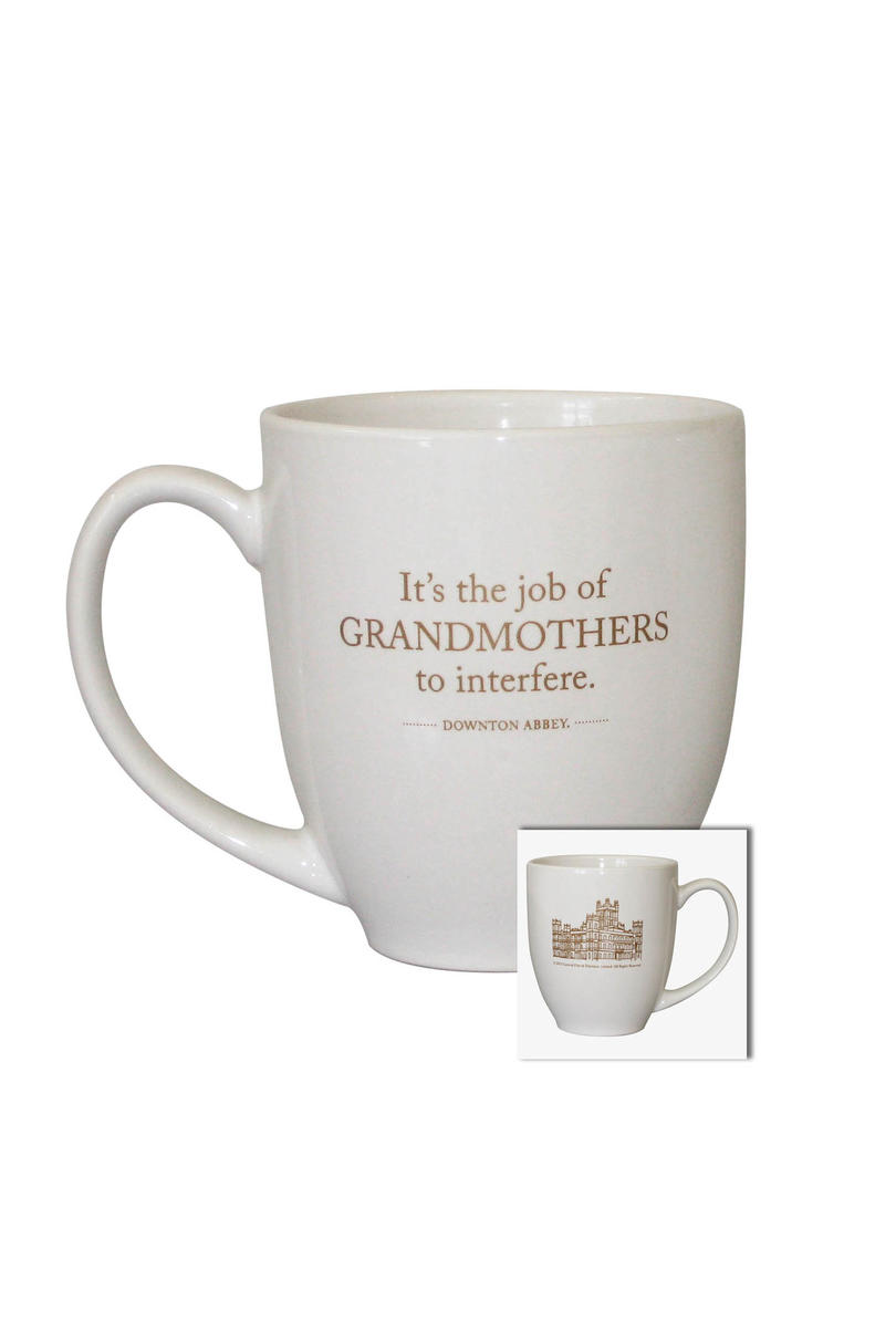 """It's the Job of Grandmothers to Interfere"" Mug"