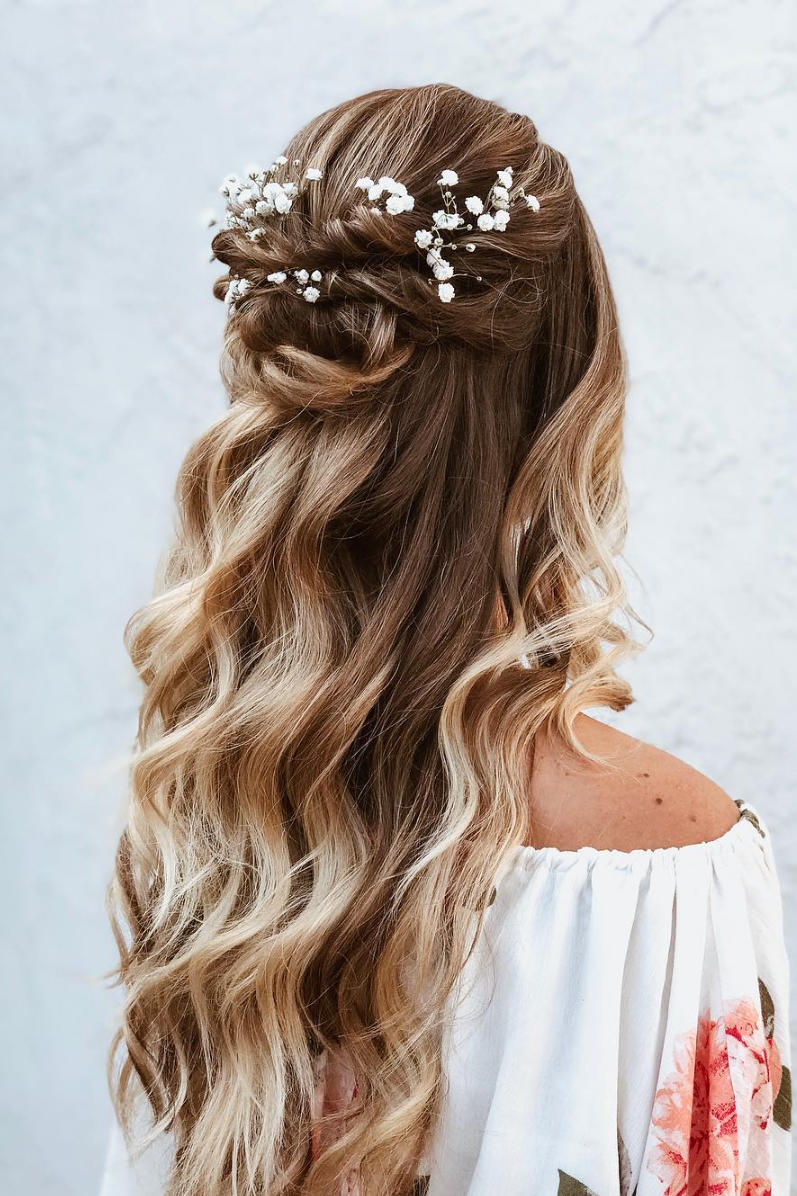 Half,Up Hairstyles We\u0027re Loving Right Now