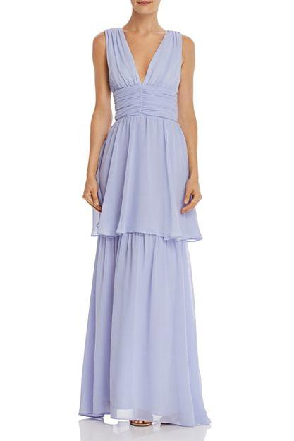 WAYF Wilton Tiered Gown