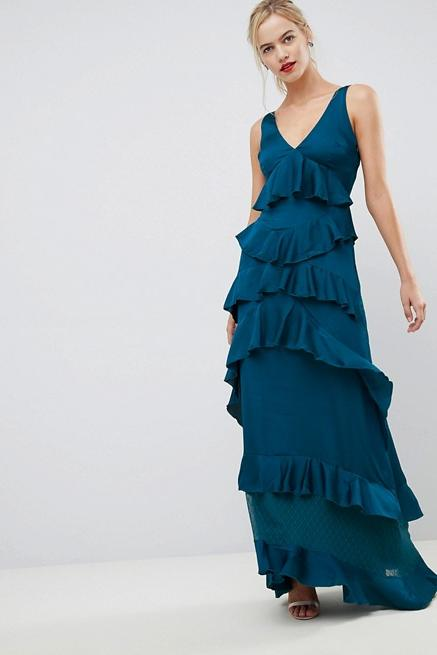 Y.A.S Ruffle Tiered Maxi Dress