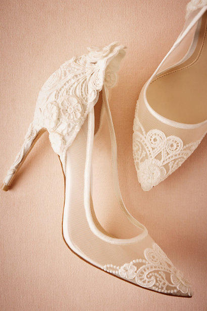 Traditional Lace Pumps