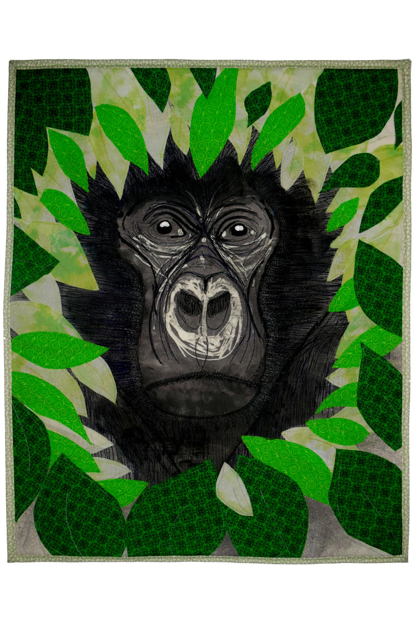 Digit for Dian Fossey Quilt