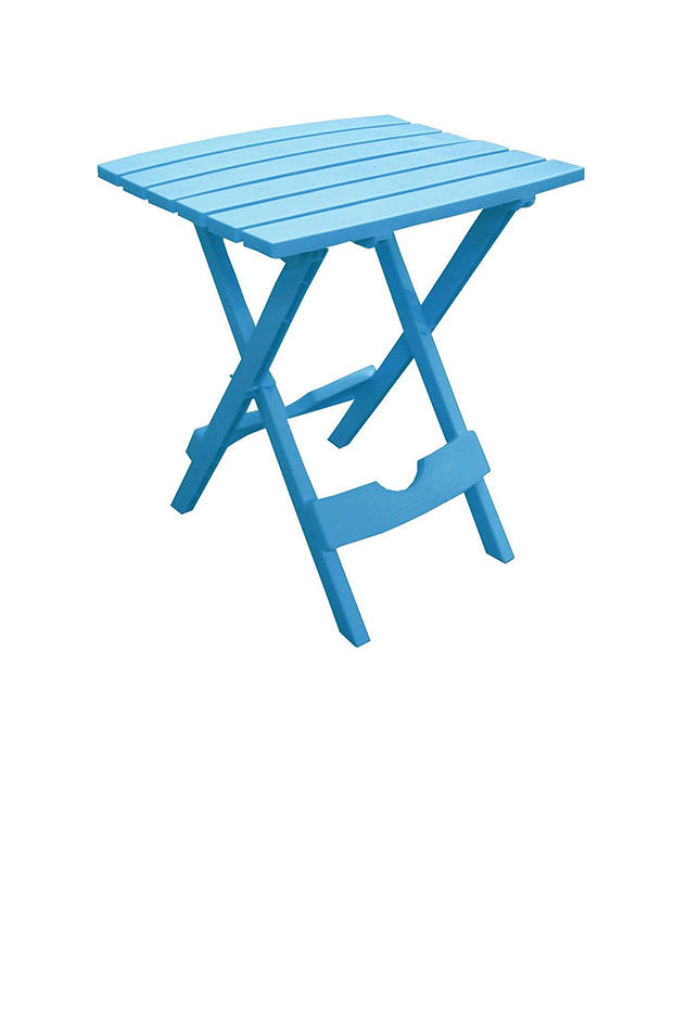 Adams Manufacturing Plastic Quik-Fold Side Table