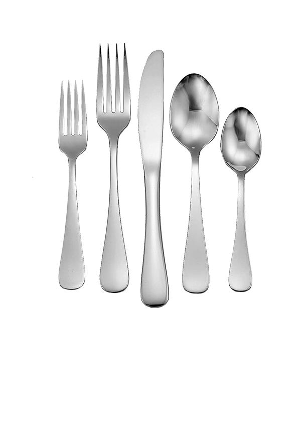 Liberty Tabletop 45 Piece Flatware Set for Eight