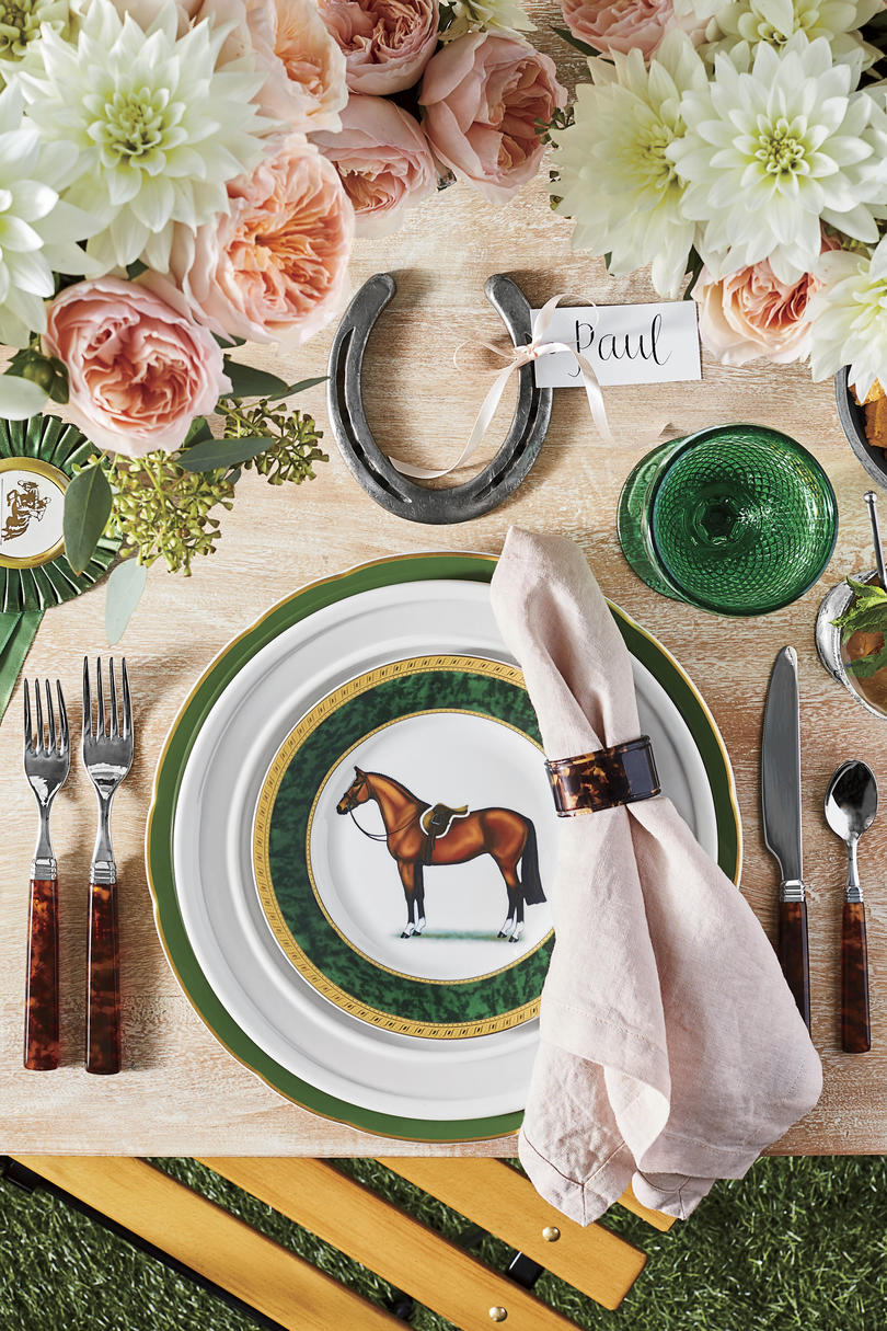 Kentucky Derby Table Setting