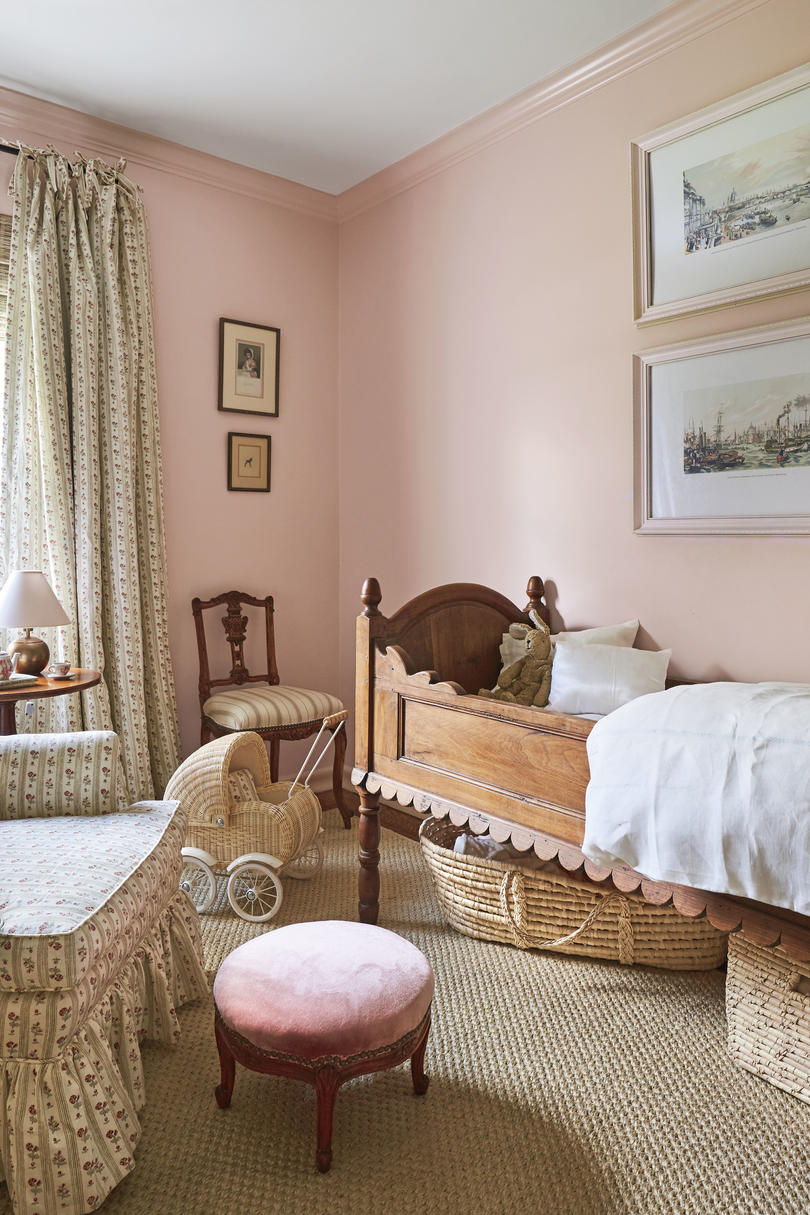 Hanna Seabrook Girl's Pink Bedroom Nursery in Louisville, Kentucky