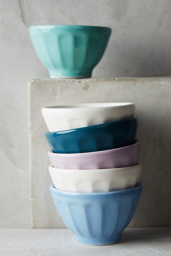 Assorted Mini Latte Bowls