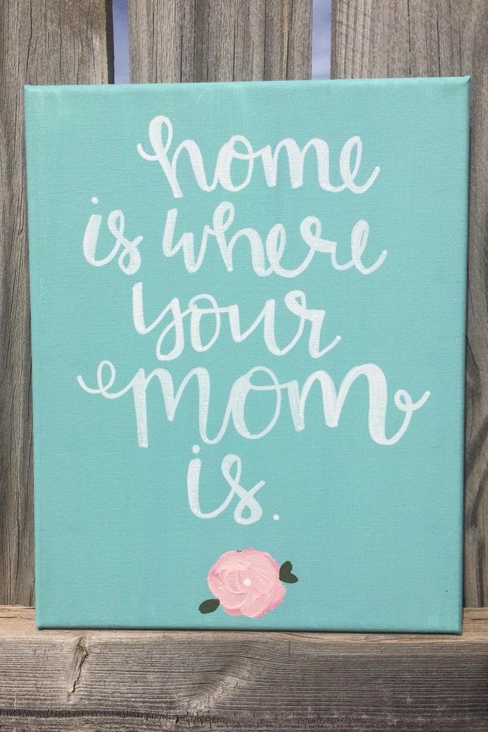 Home Is Where Your Mom Is Frame