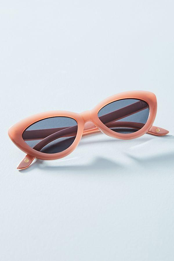 Iona Cat Eye Sunglasses in Coral
