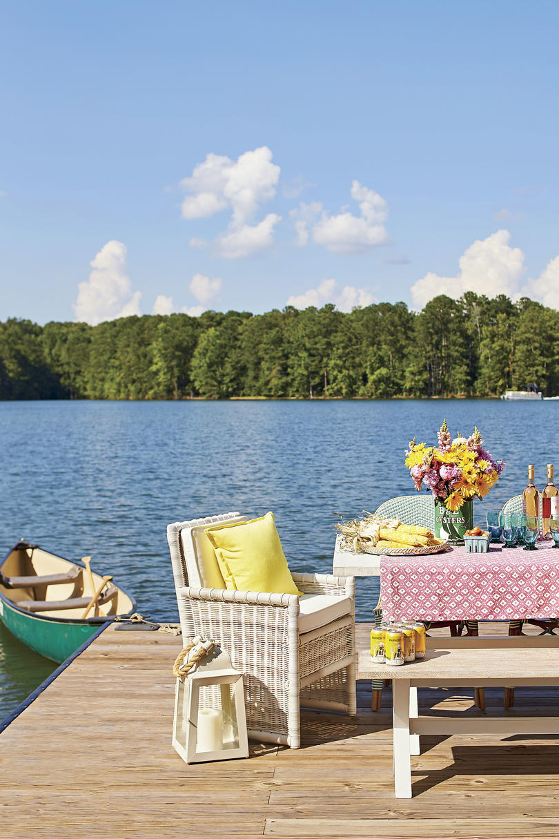 Lake Martin, Alabama Dock Party