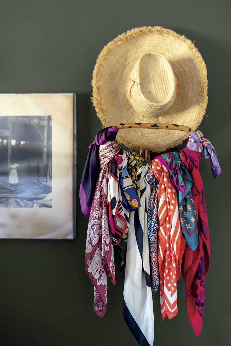 Brittney Forrister Hat Rack in Nashville Cottage