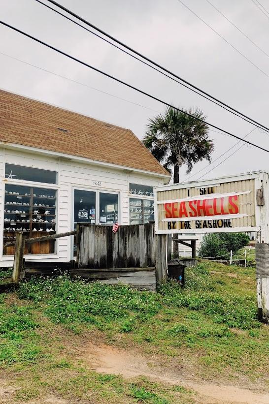 Gulf Shores Area of Florida Old Beach Shack