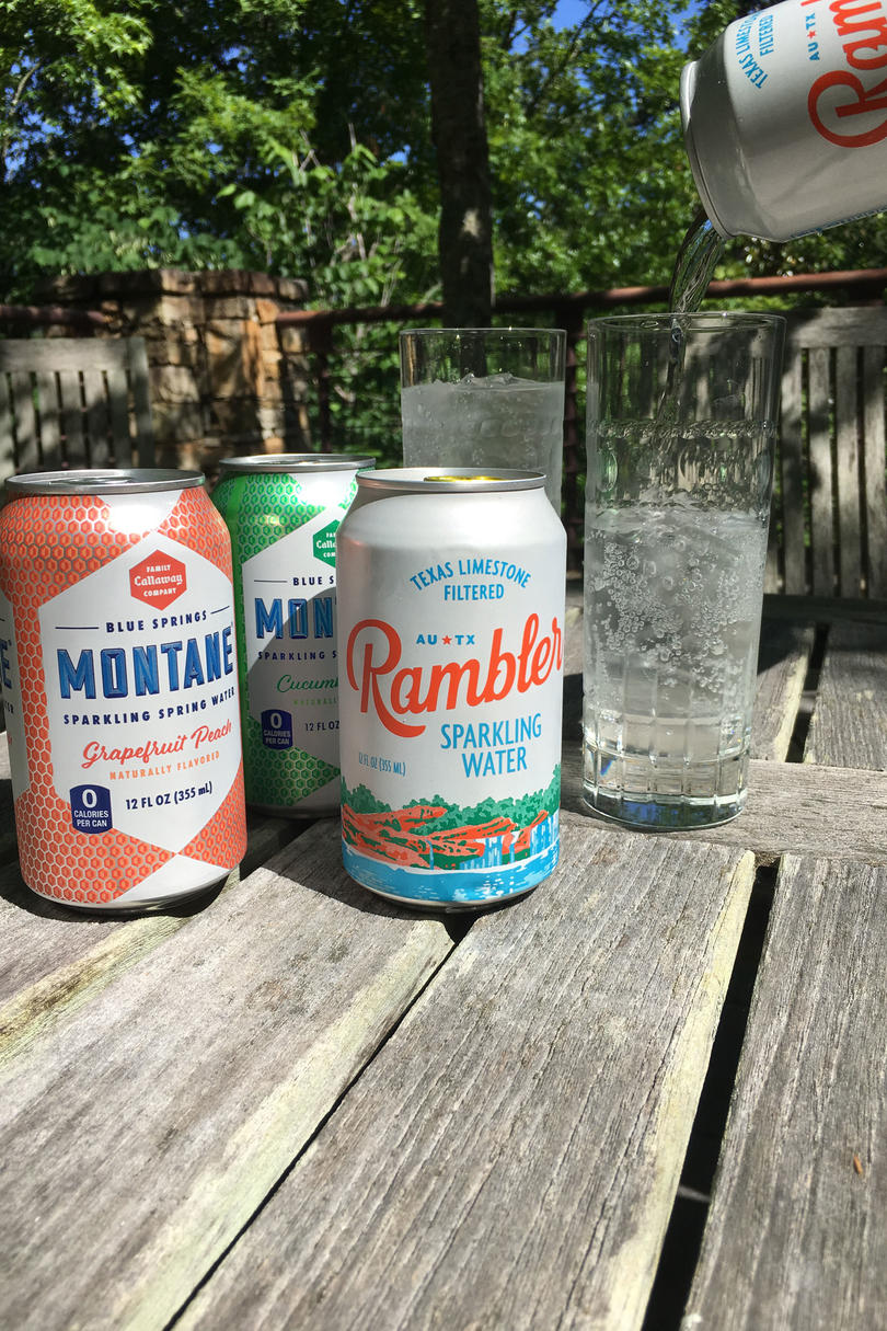 Sparkling Water Rambler and Montane