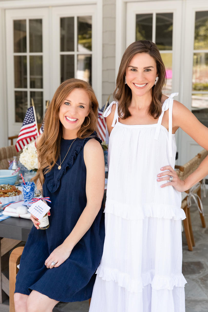 Katie Jacobs and Mary Huddleston Throw a 4th of July Party