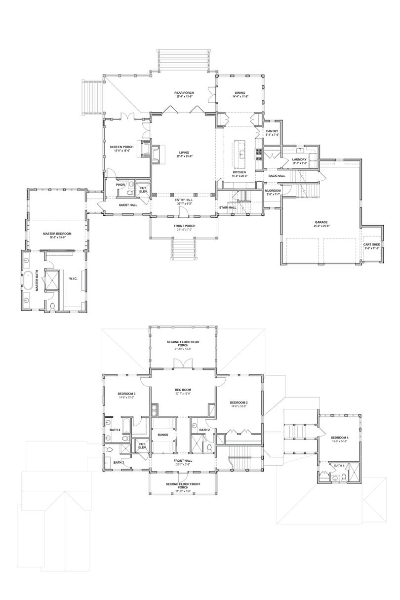 2019 Idea House Resource Guide Floor Plans