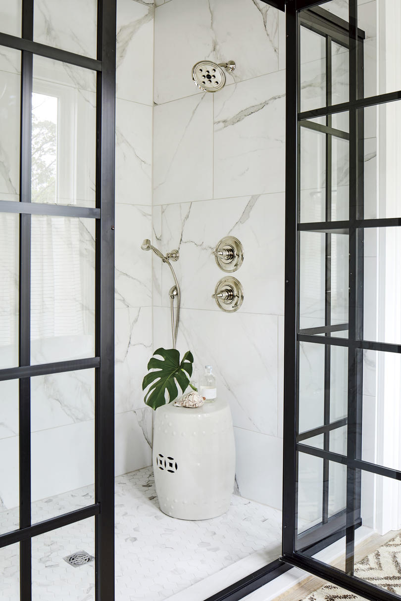 2019 Idea House Master Bath Shower