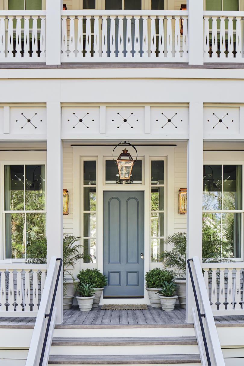 2019 Idea House Front Porch Exterior