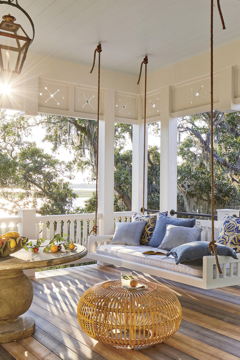 2019 Idea House Swing Porch