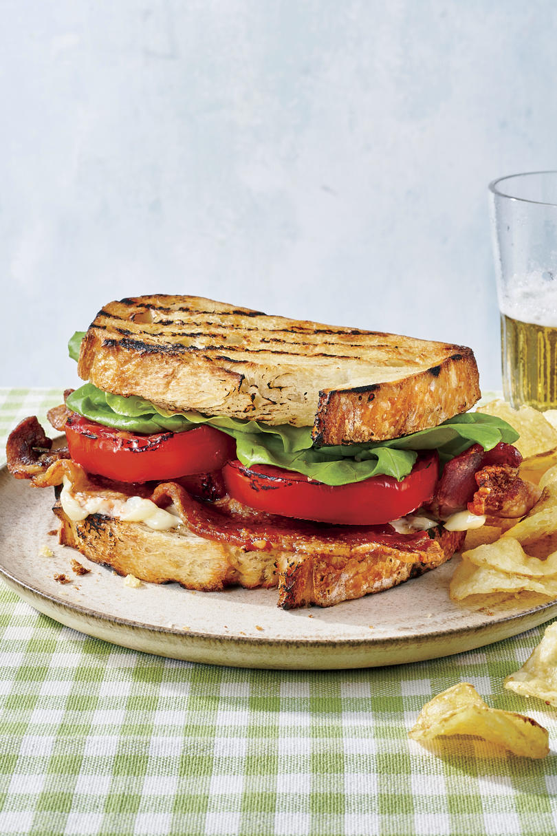 Smoky Grilled BLTs