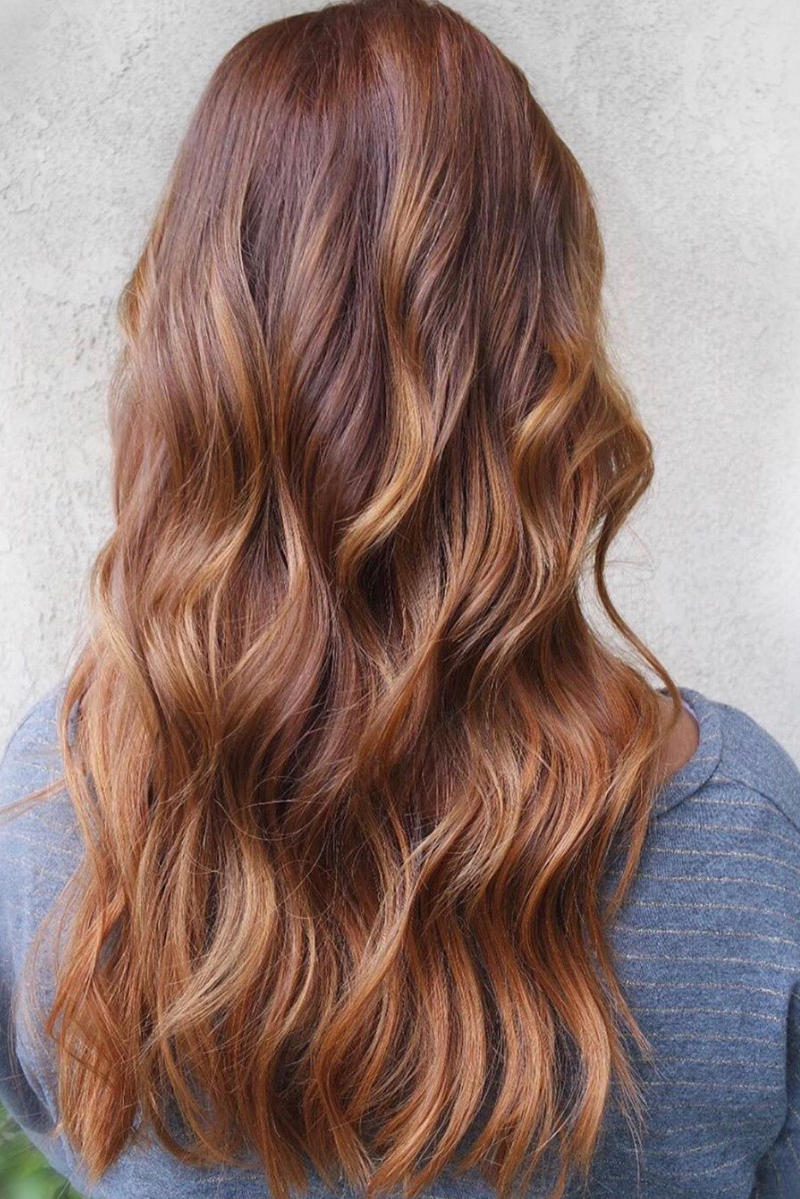 RX_1907 Best Hair Colors for Warm Skin Tones_Red Balayage