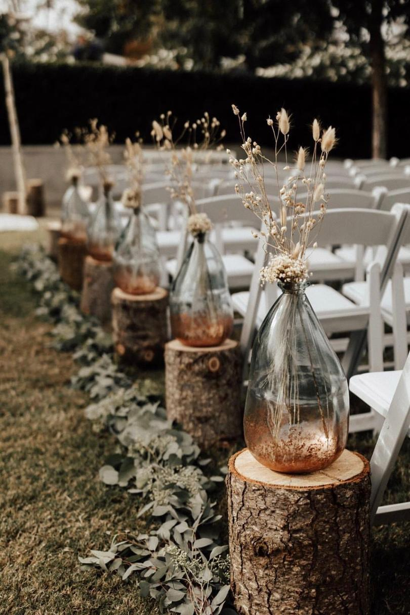 Rustic Ceremony Accents