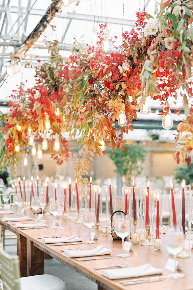 Autumn Wedding Color Schemes That You'll Fall In Love With