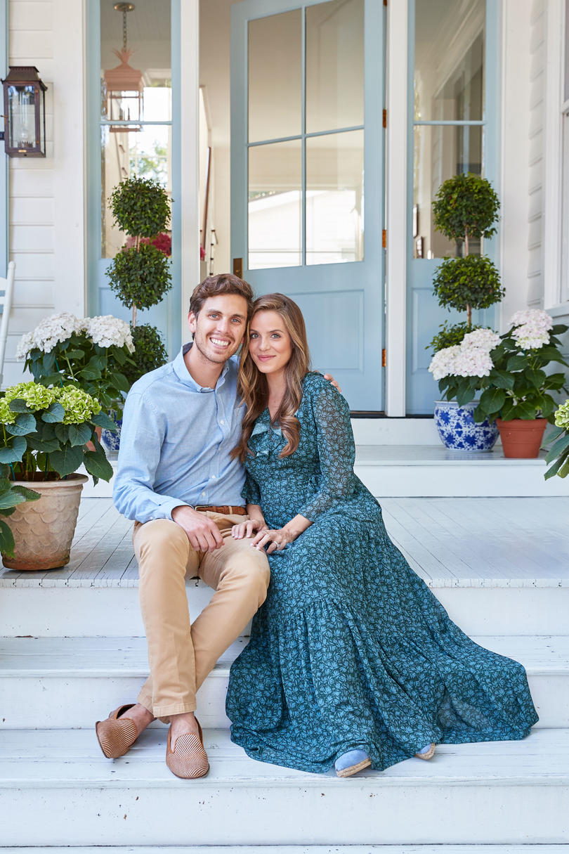 Thomas Berolzheimer and Julia Engel of Gal Meets Glam at Their Charleston, SC Home