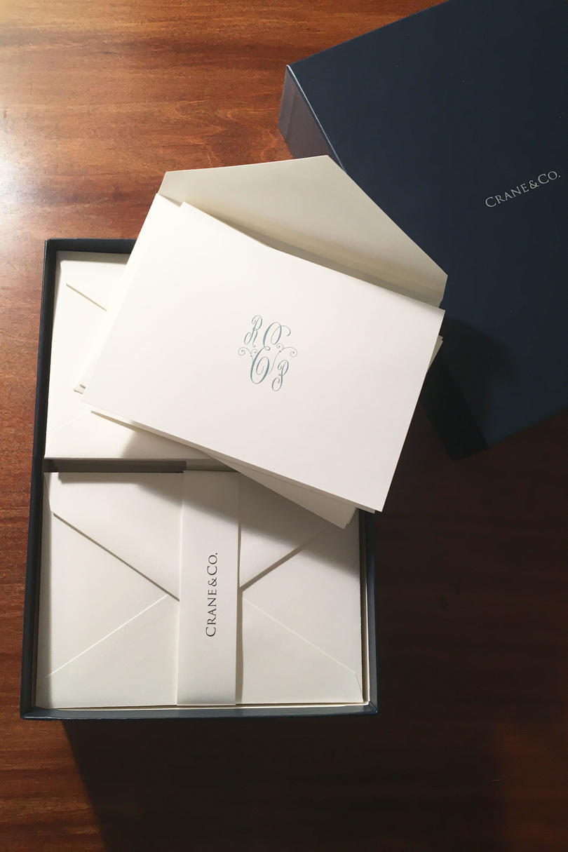 Crane and Co. Stationery