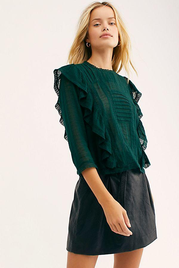 Ruffle Blouses, Now