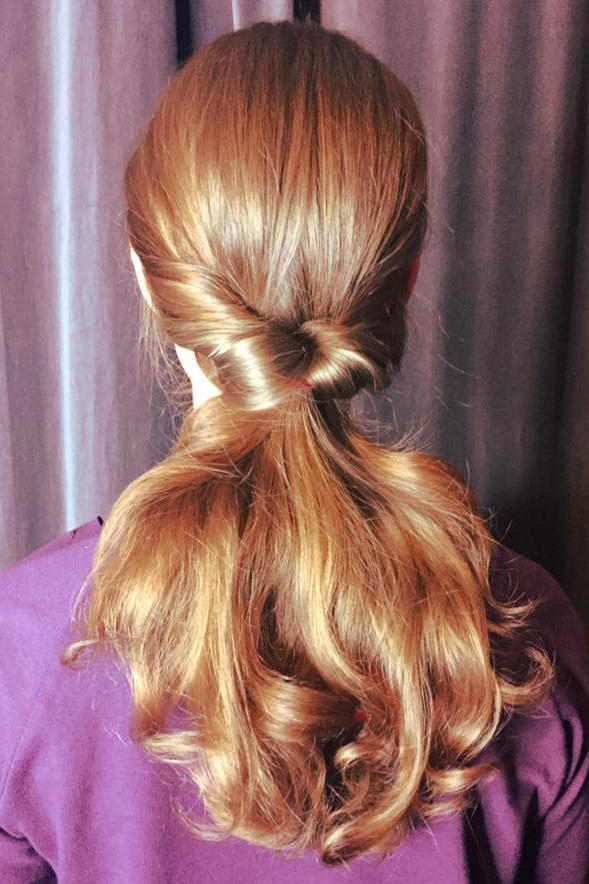Inside-Out Ponytail