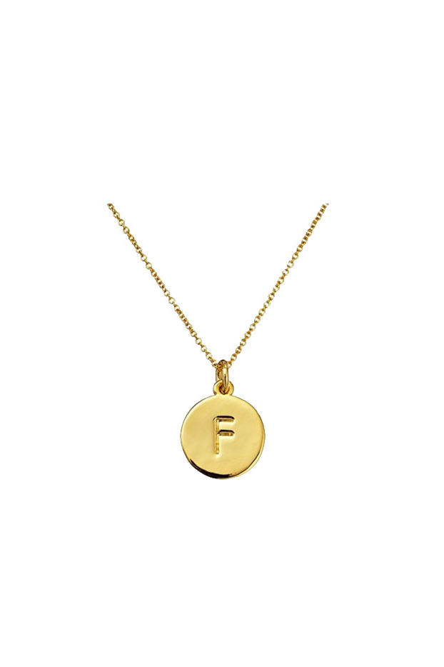 Kate Spade New York Alphabet Pendant Necklace