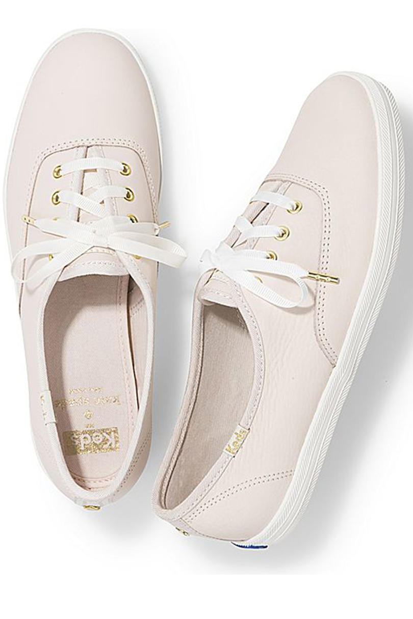 KEDS x Kate Spade New York Champion Leather Sneakers