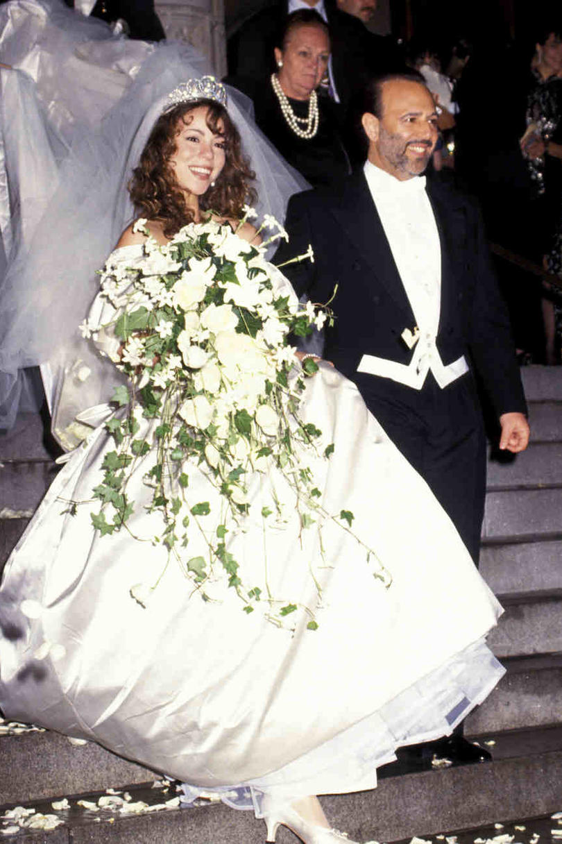 1993: Mariah Carey and Tommy Mottola