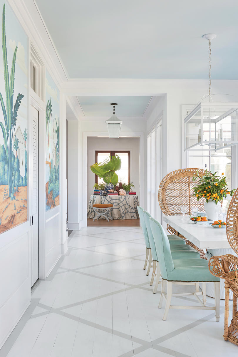 Island-Inspired Dining Room