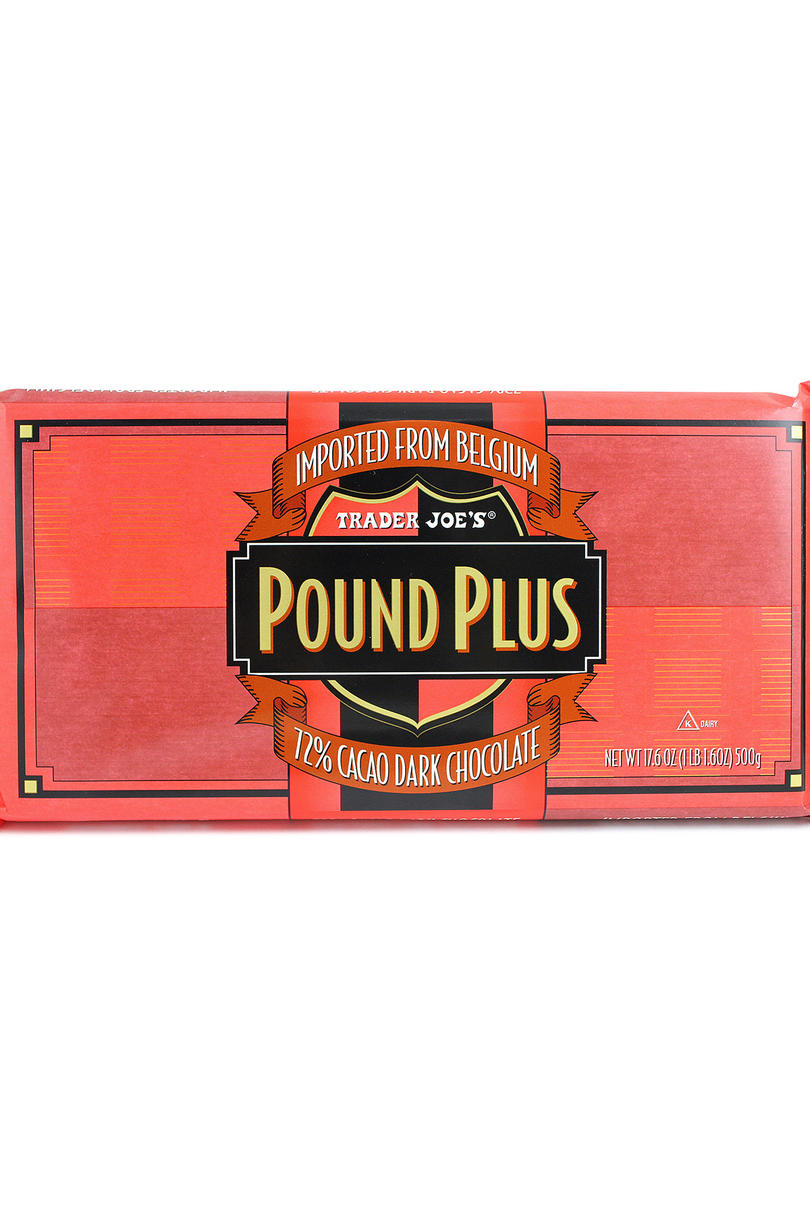 Trader Joe's Pound Plus 72% Dark Chocolate