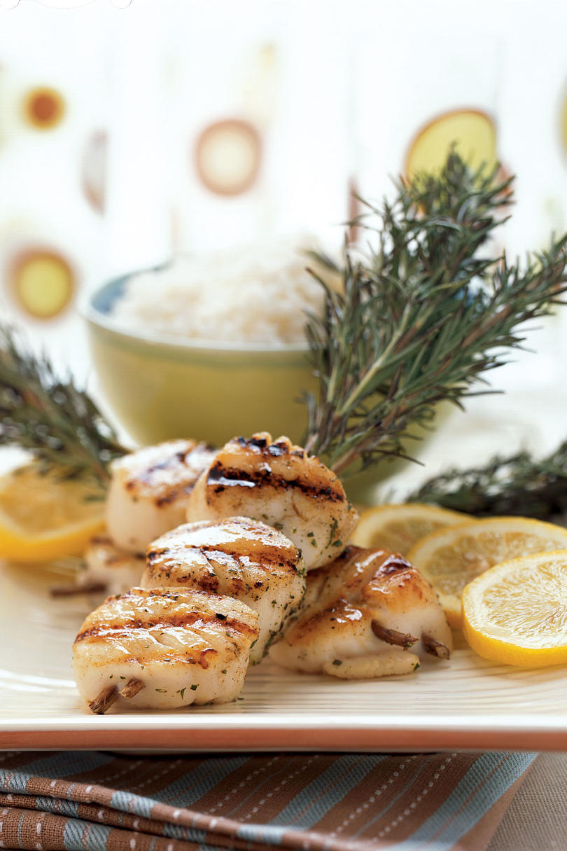 Diver Scallops on Rosemary