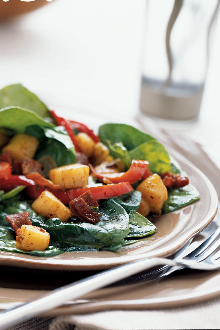 Scallop and Spinach Salad
