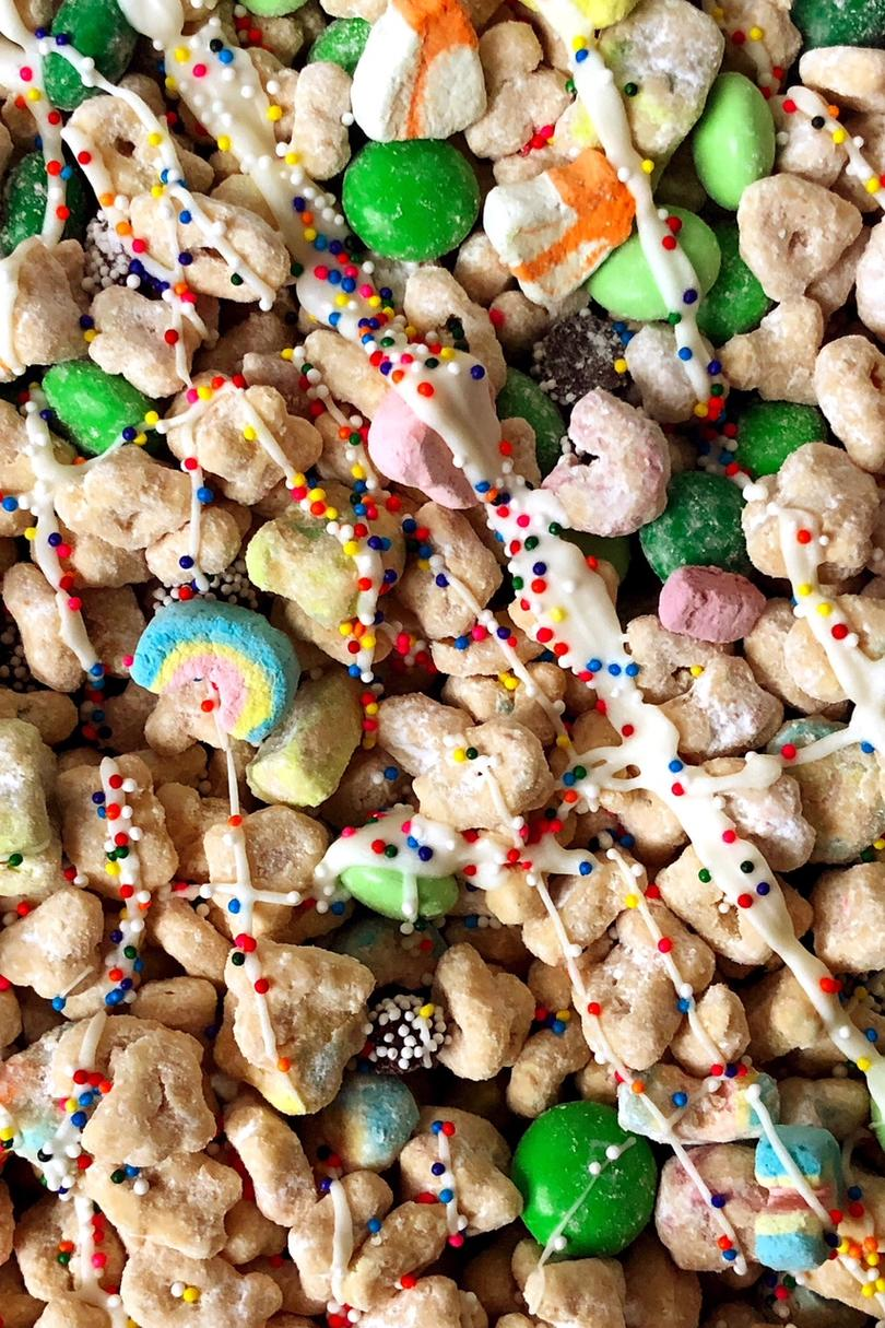 Puppy Chow for St. Patrick's Day