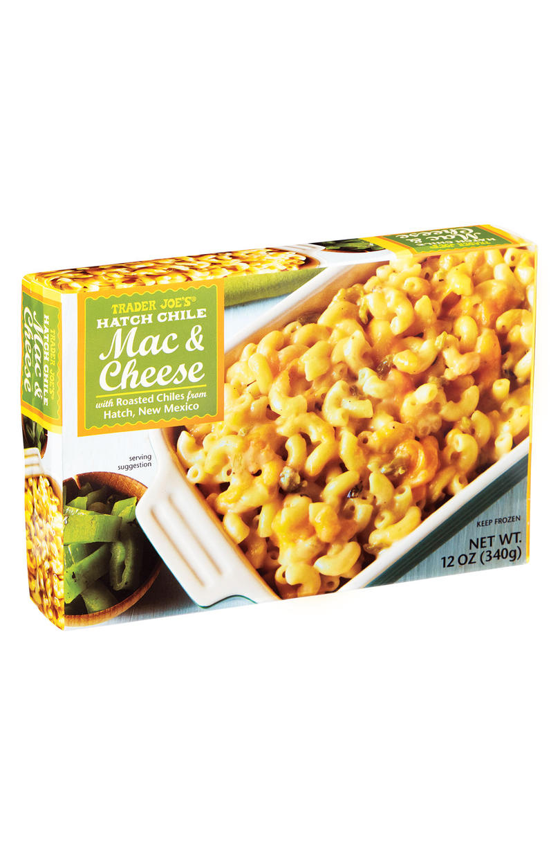 Best Frozen: Trader Joe's Hatch Chile Mac & Cheese