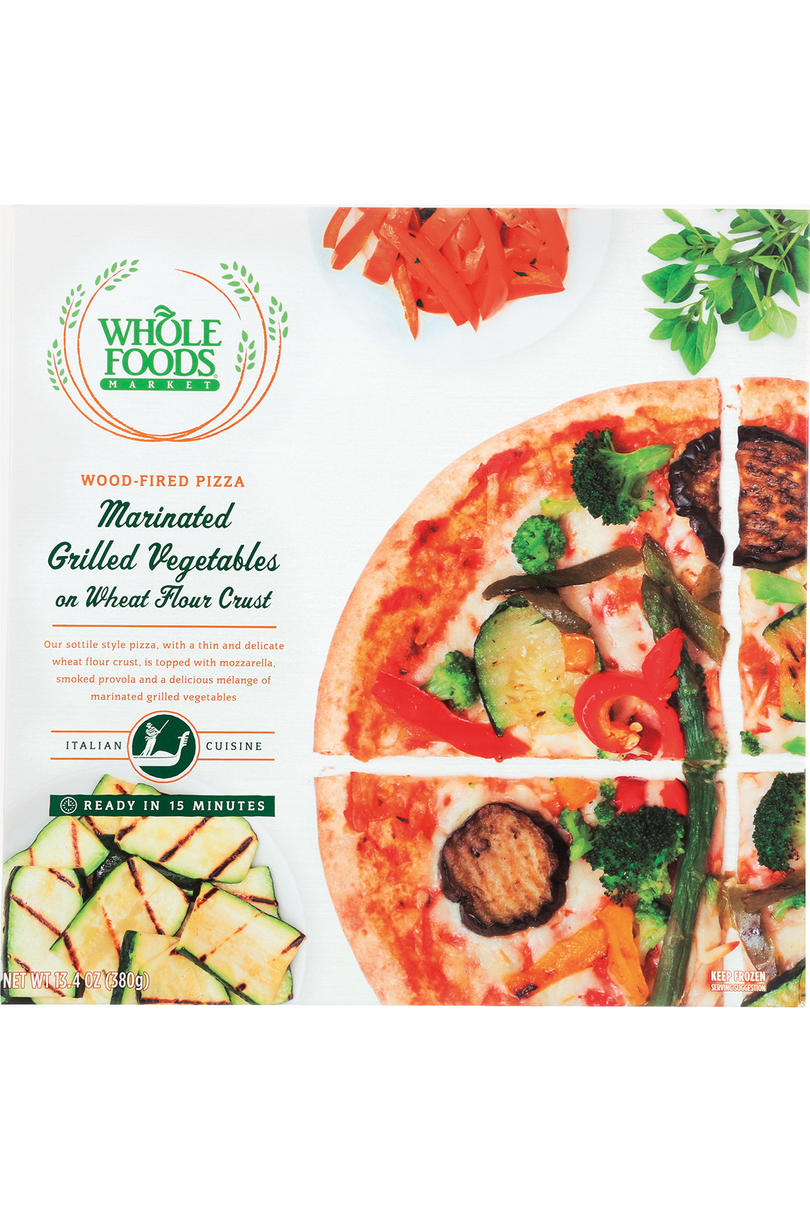 Whole Foods Market Marinated Grilled Vegetables on Wheat Flour Crust pizza