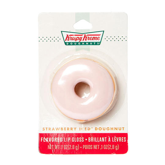 Krispy Kreme Strawberry Iced Doughnut Flavored Lip Gloss