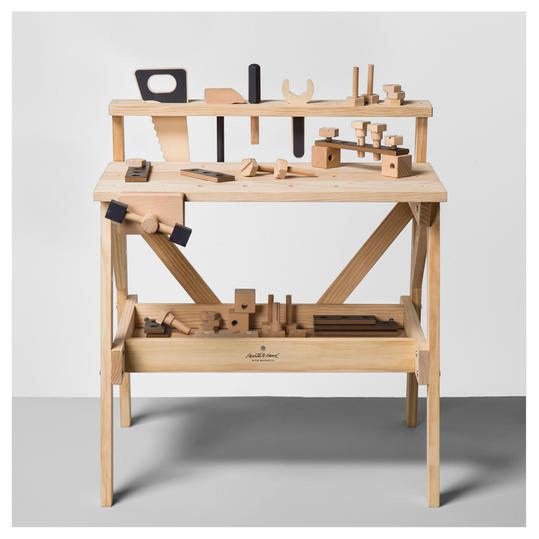 Hearth & Hand with Magnolia Chip Approved Wood Toy Tool Bench