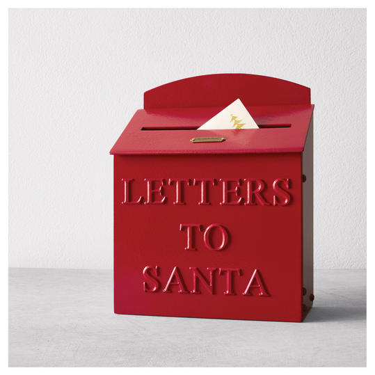 Hearth & Hand with Magnolia Letters to Santa Casted Mailboxes