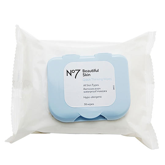 Boots No7 Quick Thinking 4-in-1 Wipes