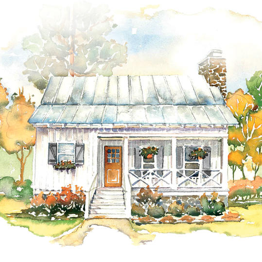 House plans we know you ll love southern living for Southern homes and gardens house plans