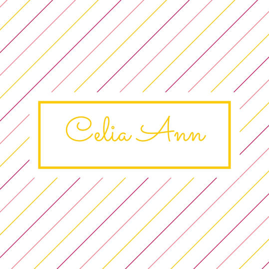 Double Name: Celia Ann