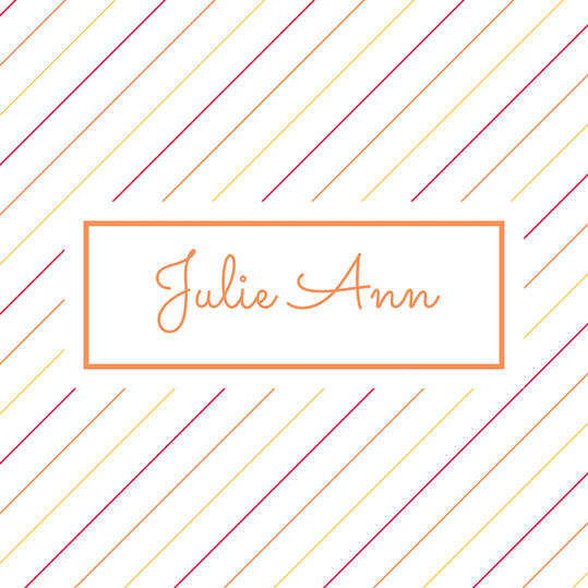 Double Name: Julie Ann