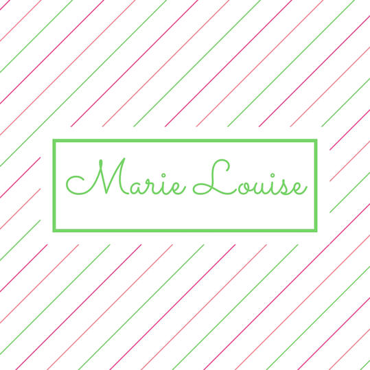 Double Name: Marie Louise
